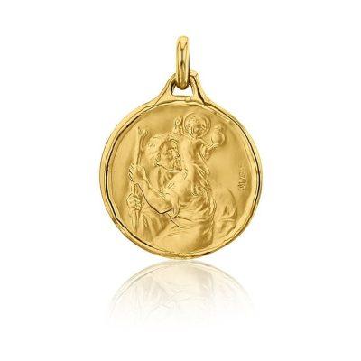 """Médaille ronde """"Saint Christophe"""" AUGIS"""