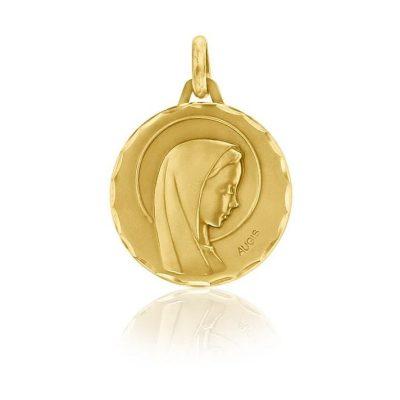 """Médaille ronde de la """"Vierge au voile"""" AUGIS"""