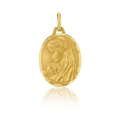 """Médaille ronde de la """"Vierge à l'enfant"""" AUGIS"""
