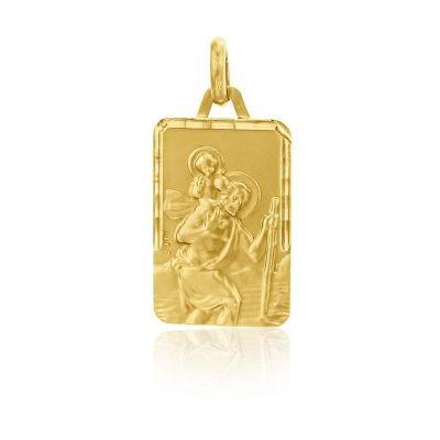 """Médaille rectangulaire """"Saint Christophe"""" AUGIS"""