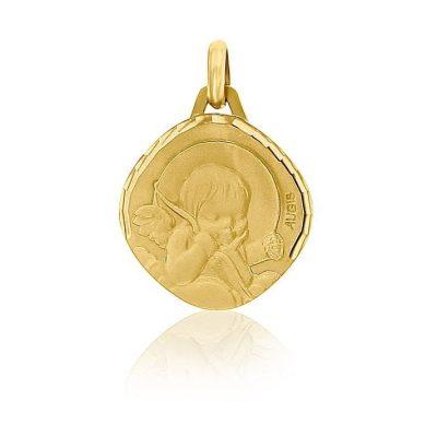 """Médaille """"Ange à l'arc"""" AUGIS"""