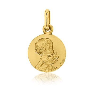 Médaille Bébé au Doudou Les Loupiots AUGIS