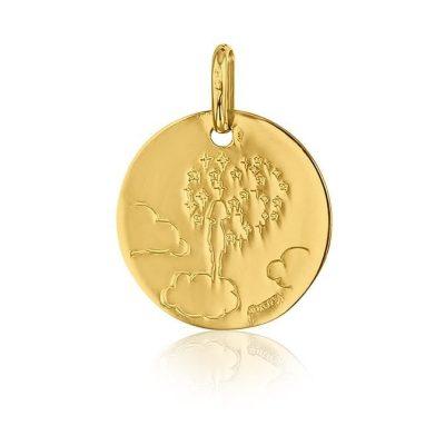 Médaille Enfant tête dans les nuages AUGIS