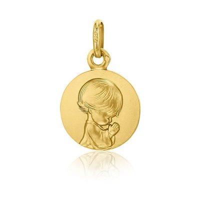 """Médaille """"Ange agenouillé"""" Loupiots AUGIS"""